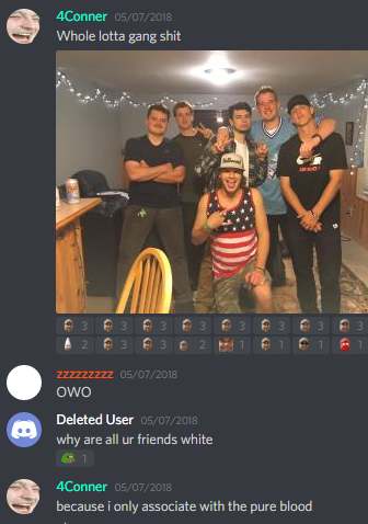 4Conner racism