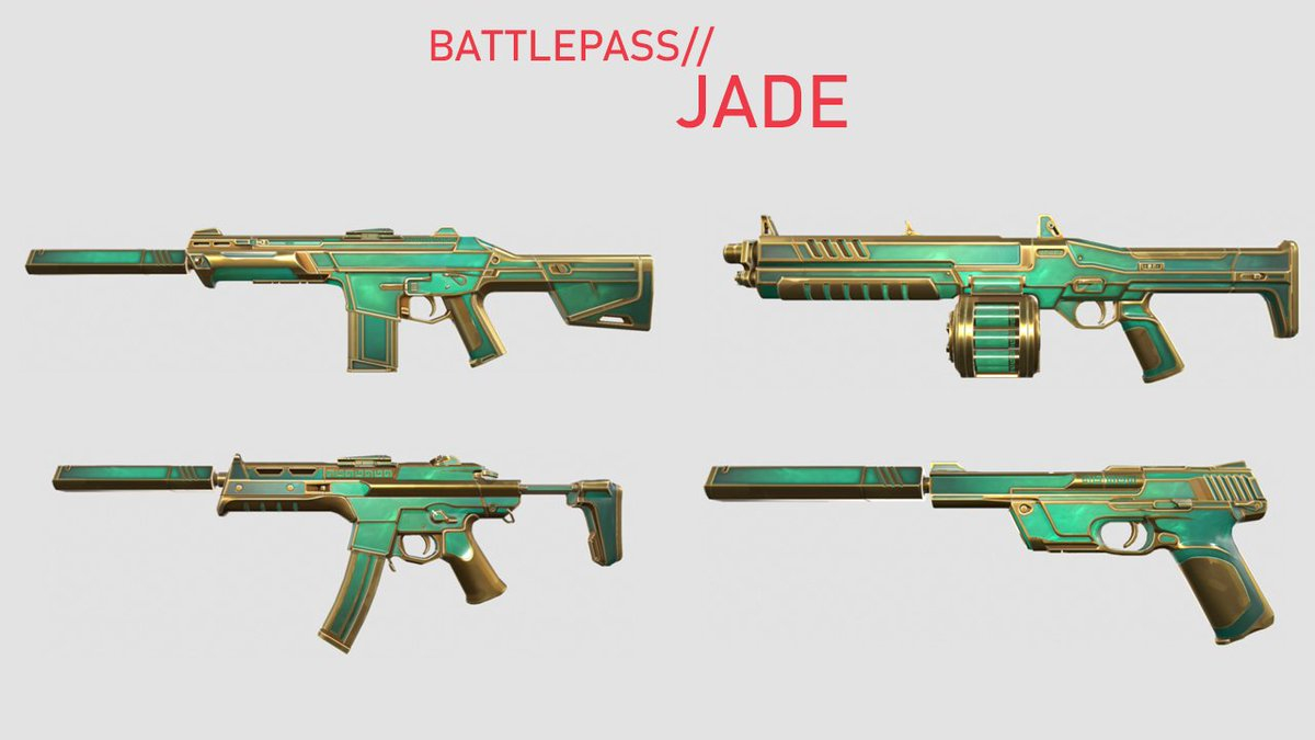 Valorant battle pass Jade