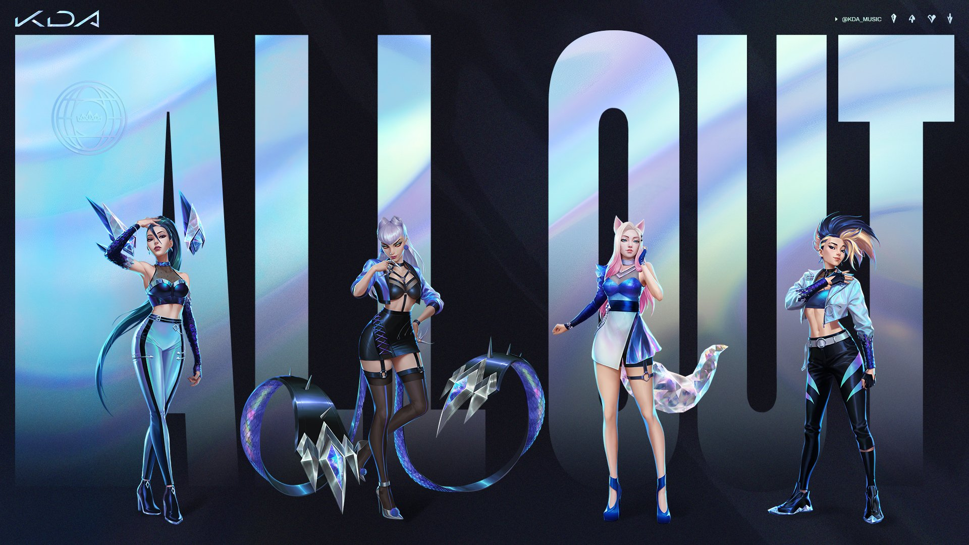 K/DA to release EP ALL OUT, new song debuts at Worlds 2020 - LoL - News -  WIN.gg
