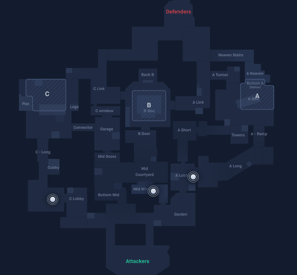 Haven map callouts