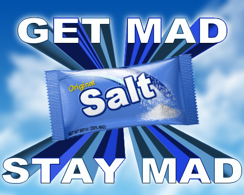 salty gaming meaning