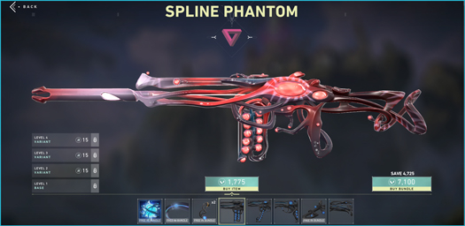 Spline Phantom Variant 3