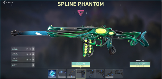 Spline Phantom Variant 2
