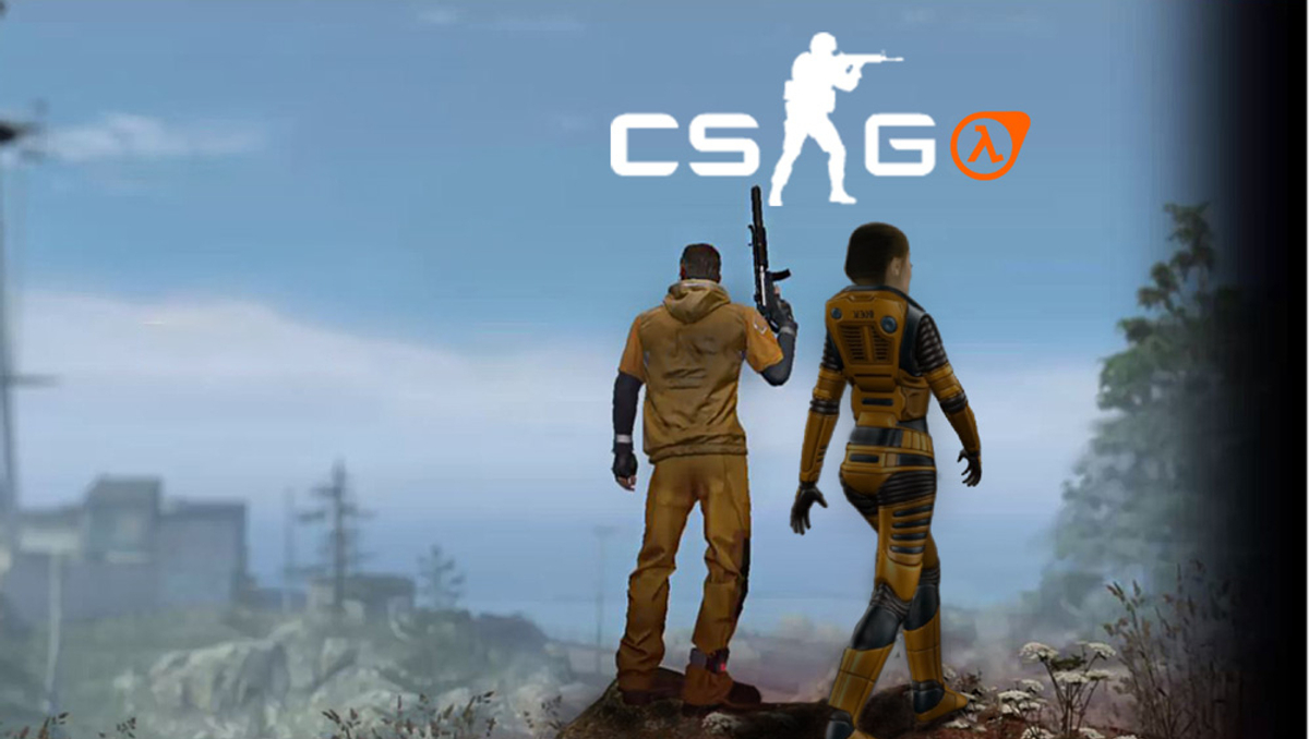 Concept art highlights the strong links between Half-Life and CSGO
