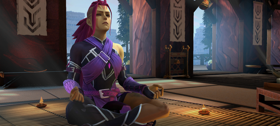 Female Anti-Mage hero persona finally arrives in TI10 Battle Pass