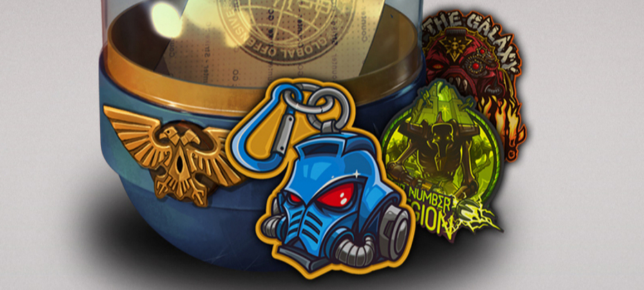 Latest CSGO update adds new stickers based on Warhammer 40K
